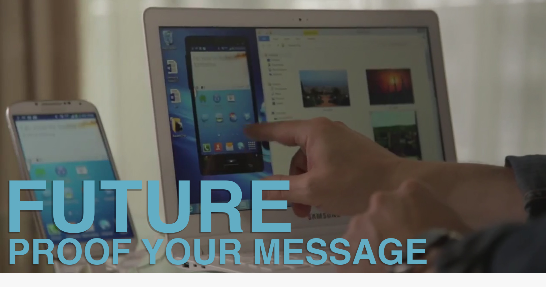 Cover Future Proof your message